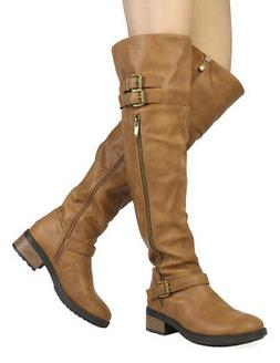 Dream Pairs New Fashion Womens Argentina Knee High Over The