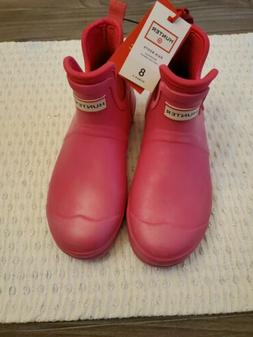 NEW Hunter for Target Women's Waterproof Ankle Rainboots Pin