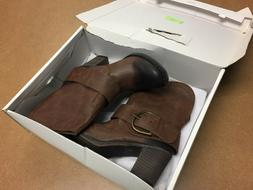 NEW in Box Rampage IVETTE Brown Womens Size 8M Boots 333101*