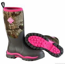 NEW MUCK WWPK-RAPG Woody PK Pink Camo Women's Boots HUNT Siz
