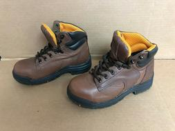 NEW Timberland PRO PowerFit Brown STEEL TOE Work Boots PRO35