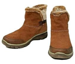 NEW Skechers Relaxed Fit Memory Foam Quantum Winter Boots Wo