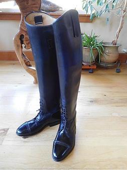 New KONIGS Tall Field Boots Women's US Size 6.5 Dressage Eng