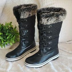 NEW ALEADER Waterproof Snow Boots Sz 8.5