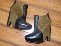 SAM EDELMAN ~ New! Woman's Size 9 ~ ZOE 2 Leather MOTO Platf