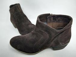 NEW! Skechers Women's Lovely Easy Slip On Ankle Boots Brown