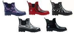 New Women's Short Ankle Rubber Rain Boots