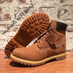 Timberland NEW womens 6 inch premium Waterproof boot rust wh