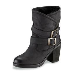 New Women's SM New York Alpine High Heel Fashion Boot Style