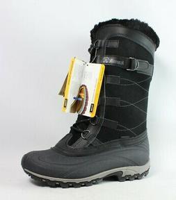 new womens citadel black snow boots size