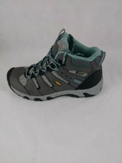 Keen New Womens Koven Waterproof Mid Hiking Boots Size 9 Gra