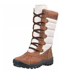 NEW Timberland Women's Mt Hayes Tall WATERPROOF Boots Leat