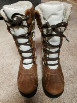 NEW Timberland Women's MT. Hayes Tall WATERPROOF Boots Lea