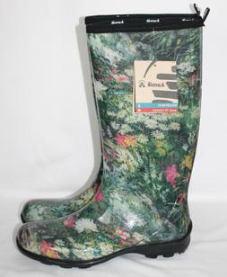 new womens size 11 floral print tall