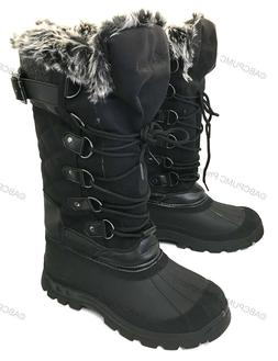 New Womens Winter Boots Fur Water Resistant Warm Insulated Z