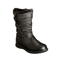 NEW Womens Totes Winter Judy Snow Boots Black Size 6 M Water