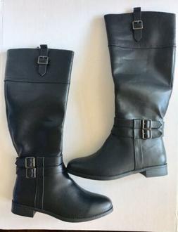 Toetos New York Diane Riding Boots Women's 7.5 Black