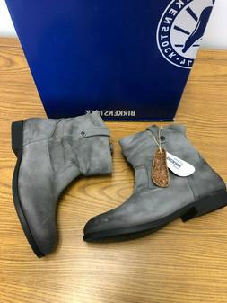 NIB Birkenstock Sarina Gray Boots Bootie size 42 Women's US