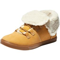 NIB Timberland Women's Dausette Fleece Casual Fold Down Boot