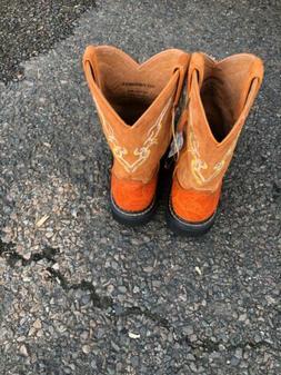 NWOT Justin 6.5 ORANGE boots