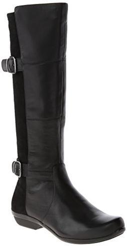 Dansko Odessa Boot - Women's Black/Nappa, 36.0