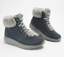 Skechers On The Go City 2 Women Snow Boots Winter Chill Wate