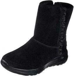 Skechers On The GO Joy - Snowflake Womens Boot BLACK- 15525