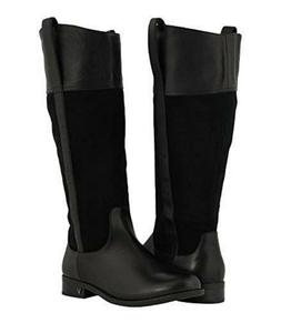 Vionic Orthaheel COUNTRY DOWNING Leather Knee High Boots BLA