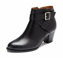 Vionic with Orthaheel Trinity Women's Boot, Black, Size 7.0