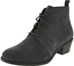 Vionic Orthaheel Womens Suede Lace-up Ankle Boots - Andi - C