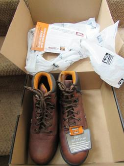 Timberland Pro Series brown Steel Toe Boots NEW in box women