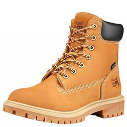 Timberland PRO Womens 6 Inch Wheat Waterproof Work Boots Ste