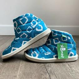 Sanuk Puff N Chill Lauren New Slip On Boots Womens Size 6 NW