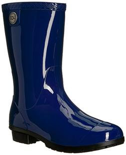 Women's Ugg 'Sienna' Rain Boot, Size 5 M - Blue