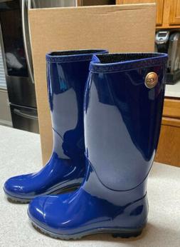 Women's Ugg 'Shaye' Rain Boot, Size 7 M - Blue