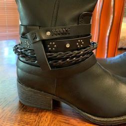 Rampage RAM-TWINKLY Black Boots MSRP$80.00 Women's Size 7M