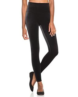 SPANX Women's Velvet Leggings Black Small 27 27
