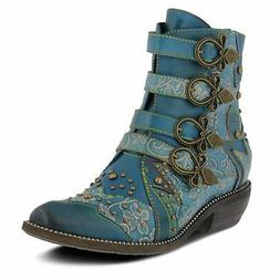 LARTISTE RODEHA Boots TEAL New