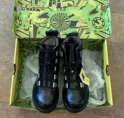 Fly London Roji NEW Combat Ankle Boots Leather Lace Up - Siz