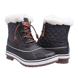 Global Win Women's1632-2GRY Snow Boots SZ-9.5M US Grey