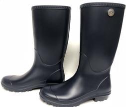 Ugg Australia Shelby Matte Rain Boots Rubber Boots Navy Blue
