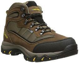 Hi-Tec Men's Skamania Mid WP Hiking Boot, Brown/Gold,11 W US