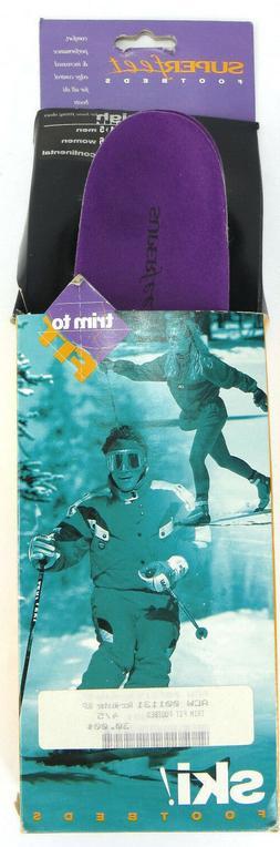 Superfeet Ski Footbeds High Profile Boots 4-5 Men 5-6 Women
