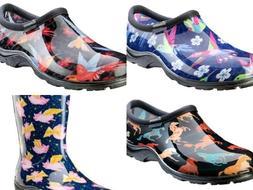 Sloggers  Women's Rain & Garden Wateproof Comfort Shoes or B