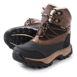 Hi-Tec Snow Peak 200 Snow Boots - Waterproof, Insulated, Lea