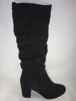 Rampage Sonia Women's Black Knee High Boots