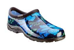 Sloggers Spring Surprise Blue Waterproof Shoe Women's