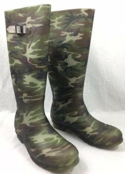 Kamik Women's Squad Rain Boot,Camo,8 M US
