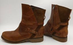 Sz 8 Teva De La Vina Boots Women Brown Waterproof Leather Si