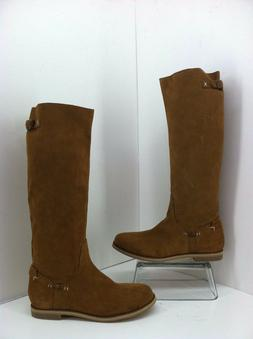 Reef Tall Boots Size 8.5 High Desert Tan Suede